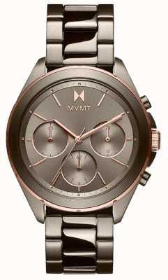 MVMT Fuga | braccialetto ip grigio da donna | quadrante grigio 28000130-D