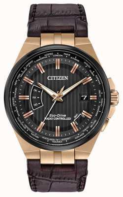 Citizen Il mondo degli uomini perpetuo a | cinturino in pelle marrone CB0168-08E