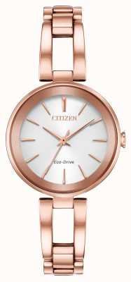 Citizen Bracciale donna eco-dive axiom in oro rosa EM0633-53A