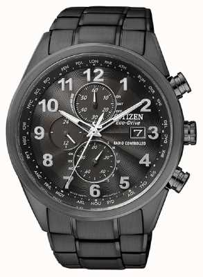 Citizen Timer mondiale da uomo eco-drive a AT8105-53E