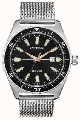 Citizen Brycen eco-drive da uomo in acciaio inossidabile AW1590-55E