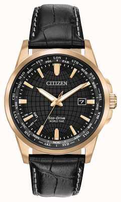 Citizen Eco-drive world timer wr50 da uomo BX1003-08E