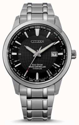 Citizen Eco-drive uomo radiocomandato world perpetual at CB0190-84E