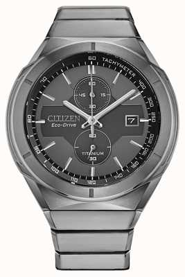 Citizen Armatura da uomo in super titanio eco-drive CA7050-57H