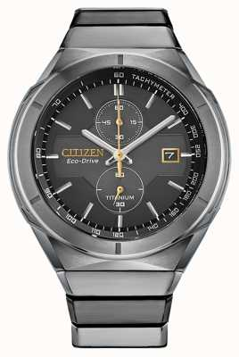Citizen Armatura da uomo in super titanio eco-drive CA7058-55E