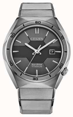 Citizen Armatura da uomo in super titanio eco-drive AW1660-51H