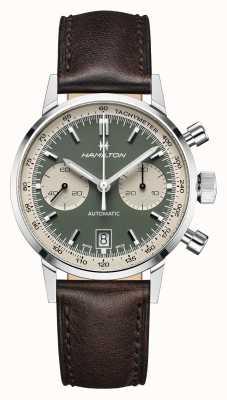 Hamilton Intramatico | automatico | cronografo | quadrante verde H38416560