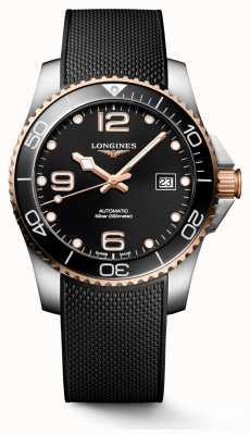 Longines Hydroconquest 41mm | quadrante nero | cinturino in caucciù L37813589