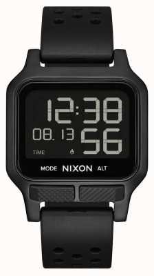 Nixon Calore | orologio con cinturino in caucciù completamente nero A1320-001