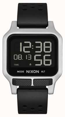 Nixon Calore | cinturino in caucciù nero traforato A1320-008