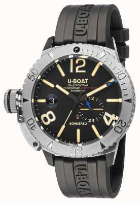 U-Boat Sommerso | orologio con cinturino in caucciù nero 9007/A