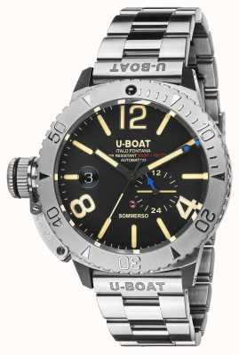 U-Boat Bracciale sommergibile in acciaio inossidabile 9007/A/MT