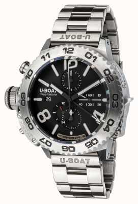 U-Boat Cronografo Doppiotempo | acciaio inossidabile | braccialetto 9016/MT