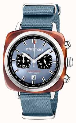 Briston | clubmaster sport | acetato | blu ghiaccio | 20142.SA.TS.25.NIB