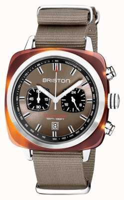 Briston | clubmaster sport | acetato | tortora | 20142.SA.TS.30.NT