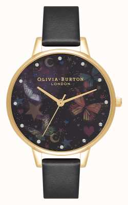 Olivia Burton Demi night garden farfalle in pelle vegana OB16WG82