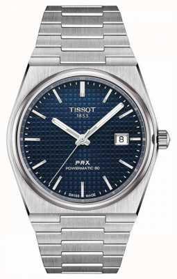 Tissot Prx 40 205 | powermatic 80 | quadrante blu | acciaio inossidabile T1374071104100