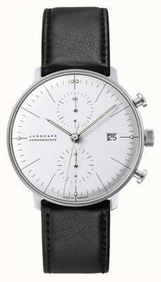 Junghans Cronografo Max bill con vetro zaffiro 27/4600.02