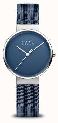 Bering Orologio solare da donna blu navy 14331-307