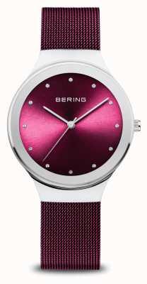 Bering Classico | delle donne | argento lucido | maglia viola 12934-909