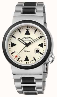 Muhle Glashutte Il lume del timer di salvataggio sar   braccialetto M1-41-08-MB