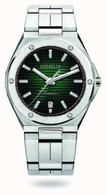 Michel Herbelin Cap camarat | automatico | quadrante verde | acciaio inossidabile 1645/B16
