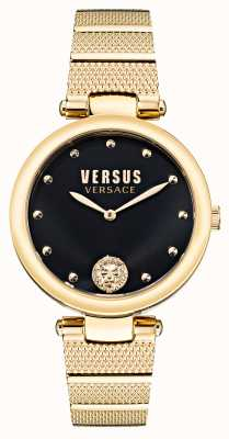 Versus Versace Orologio Versus los feliz in acciaio placcato oro VSP1G0621
