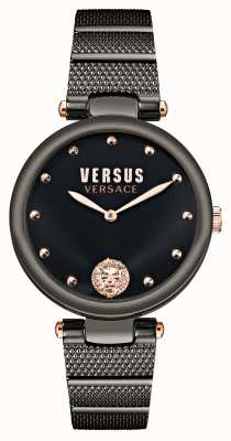 Versus Versace Orologio placcato nero Versus los feliz VSP1G0721