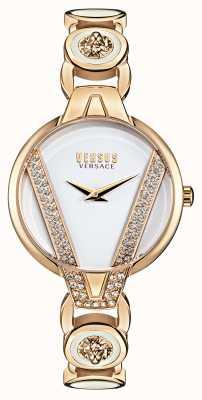 Versus Versace | saint germain petite | set di cristalli | braccialetto d'oro | VSP1J0221