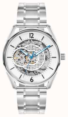 Kenneth Cole Automatico | quadrante argento | bracciale in acciaio inossidabile KC50205001A