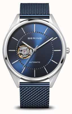 Bering Automatico   uomo   argento lucido / spazzolato   quadrante blu 16743-307
