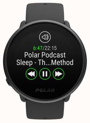 Polar Ignite 2 | perla nera | tracker attività e risorse umane | cinturino in silicone nero | s / l 90085182