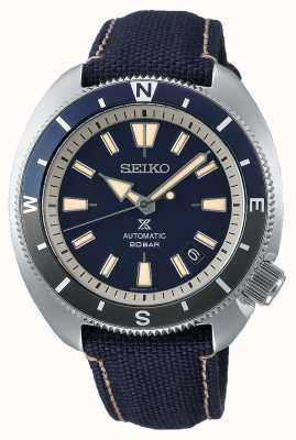 Seiko Prospex | edizione terra 'tartaruga' | cinturino blu SRPG15K1