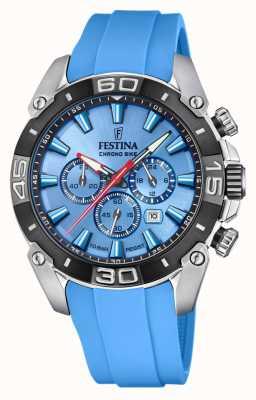 Festina Chronobike 2021 | quadrante blu | cinturino in silicone blu F20544/6