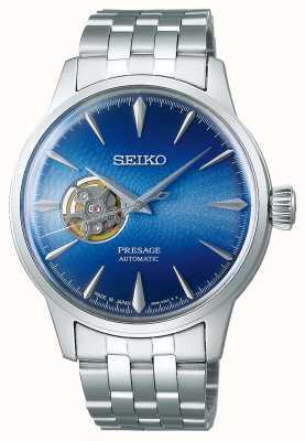 "Seiko Presage cocktail time ""blue acapulco"" SSA439J1"