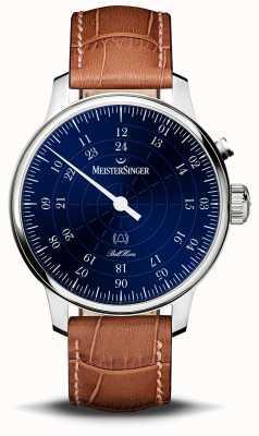MeisterSinger Quadrante blu Bell Hora 20th Anniversary BHO908