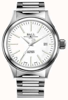Ball Watch Company Vigile del fuoco automatico quadrante bianco 40mm NM2098C-S20J-WH