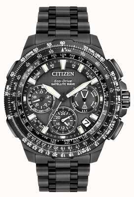 Citizen Onda satellitare GPS navihawk | nero super titanio | cc9025-51e CC9025-85E