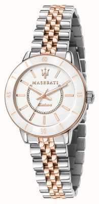 Maserati Il successore dell'orologio solare dual tone da donna R8853145504