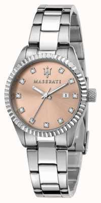 Maserati Concorso da donna quadrante rosa cristallo set R8853100509