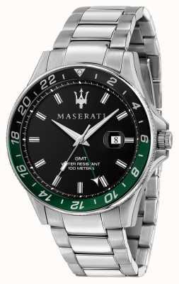 Maserati Lunetta Sfida da uomo bicolore nero/verde R8853140005