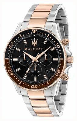 Maserati Bracciale uomo Sfida bicolore R8873640009