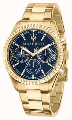 Maserati Orologio da uomo Competizione in oro giallo R8853100026