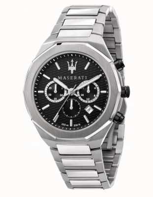 Maserati Stile cronografo da uomo in acciaio inossidabile R8873642004