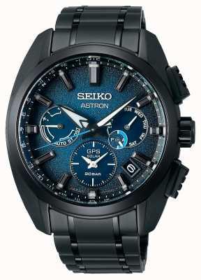 Seiko Astron global active ti limited edition quadrante blu SSH105J1
