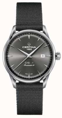Certina Orologio con quadrante grigio Ds-1 powermatic 80 C0298071108102