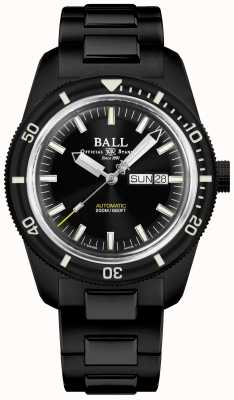 Ball Watch Company Ingegnere ii | patrimonio subacqueo | auto | tic rivestimento nero DM3208B-S4-BK