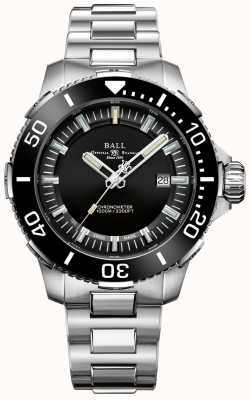 Ball Watch Company Orologio con quadrante nero in ceramica Deepquest DM3002A-S3CJ-BK