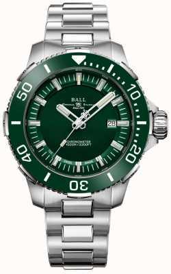 Ball Watch Company Lunetta e quadrante in ceramica verde Deepquest DM3002A-S4CJ-GR