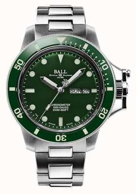 Ball Watch Company Quadrante verde originale idrocarburico da uomo (43mm) DM2218B-S2CJ-GR